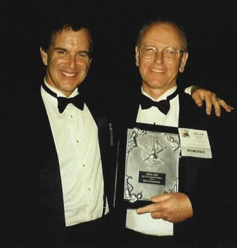 Brian Crane with Gary Trudeau
