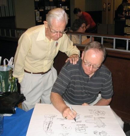 Brian Crane with Bil Keane