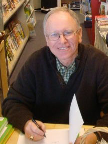 Brian Crane at a book signing